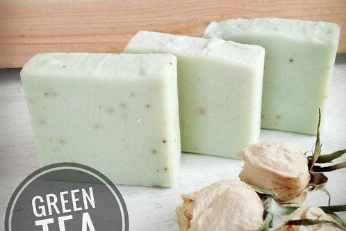 Natural Green Tea Soap 100g