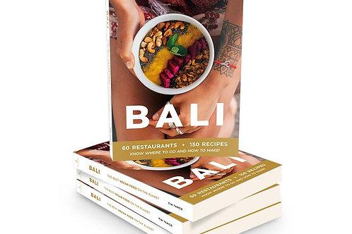 Bali Vegan Food Book by Sukime
