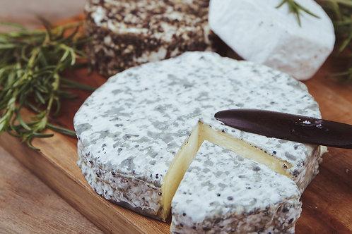 Black & White Cheese - Rosalie Cheese 100gr (round)