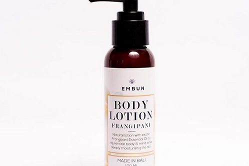 Body Lotion Rejuvenating Frangipani 100ml By Embun Natural
