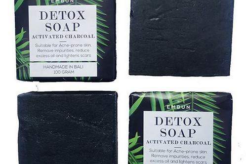 Detox Soap Bar – Activated Charcoal By Embun Natural