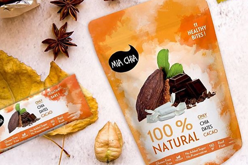 GF Chocolate Energy Bites by Mia Chia 110g