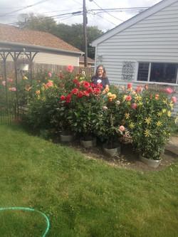 Joanne Motta's garden 2