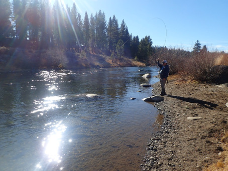 Truckee Tahoe Fly Fishing Report December 5th, 2020