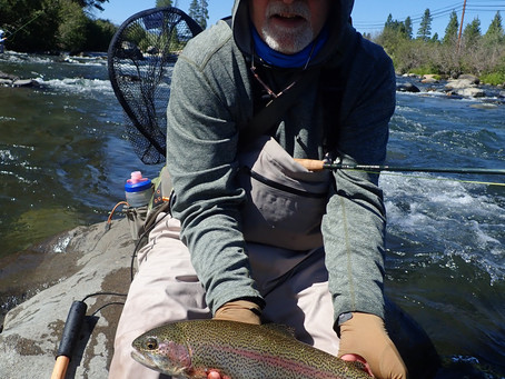 Truckee Tahoe Fly Fishing Report August 1st, 2020
