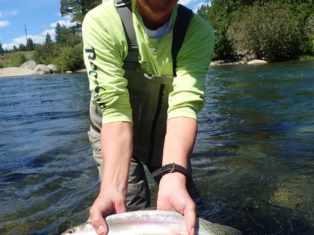 Truckee Tahoe Fly Fishing Report August 27th, 2019
