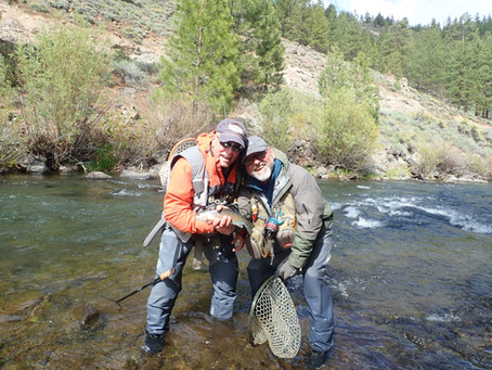 Truckee Tahoe Fly Fishing Report May 26th,  2021