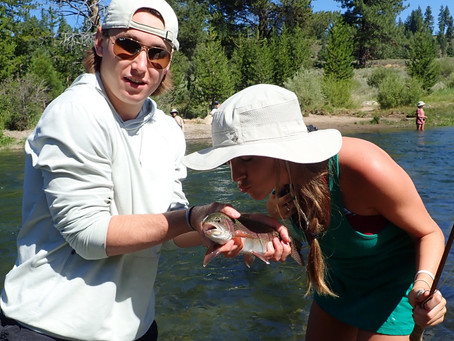 Truckee Tahoe Area Fly Flyfishing Report August 1st, 2019