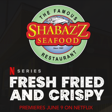 Shabazz Seafood is going to be on Netflix