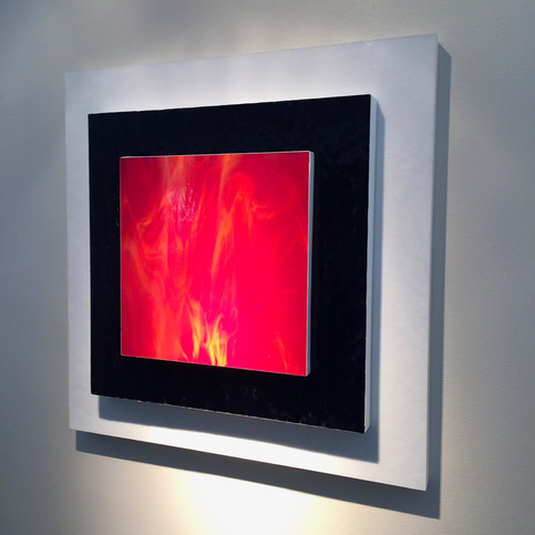 Flame Square   $ 600
