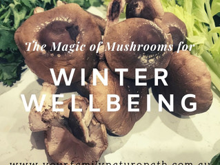 The Magic of Mushrooms for Winter Wellbeing ❤️🍄