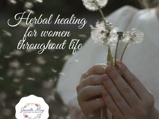 Herbal healing for women throughout life
