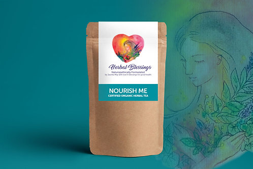 Nourish Me ~ Certified Organic Herbal Tea 100g