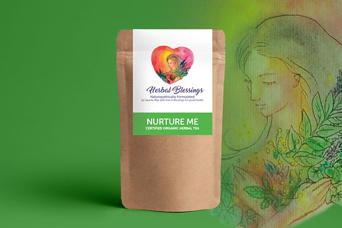 Nurture Me ~ Certified Organic Herbal Tea 100g