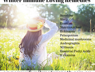 Winter Immune Loving Remedies