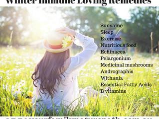 Winter Immune Loving Remedies