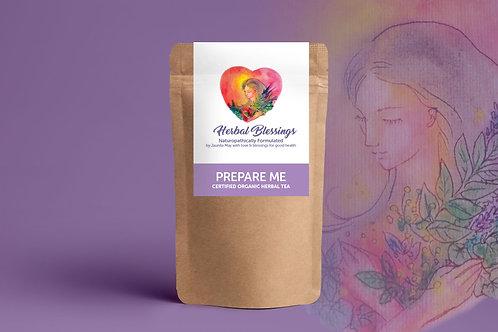 Prepare Me ~ Certified Organic Herbal Tea 100g