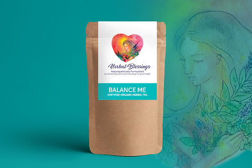 Balance Me ~ Certified Organic Herbal Tea 100g