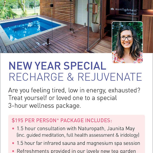 New Year Special Recharge & Rejuvenate Package