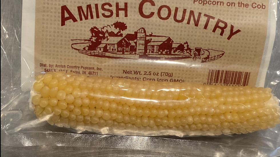 Microwaveable Popcorn Cob