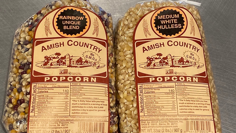Amish Country Popcorn  2#