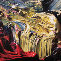 """Fragment of a painting """"Illusion"""""""