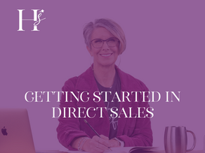 Getting Started in Direct Sales