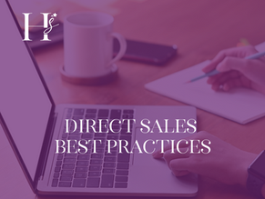 Direct Sales Best Practices