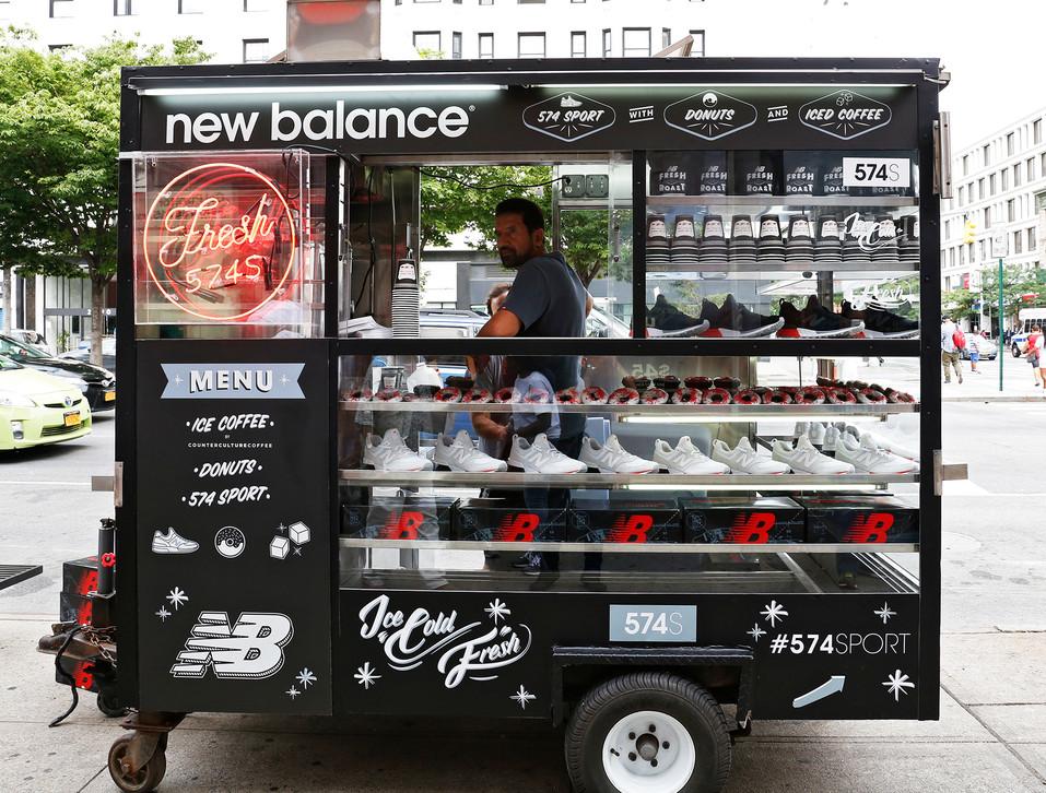 New Balance 574 Sport / Coffee Cart