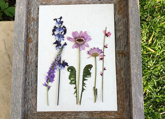 5 x 7  Floral Art