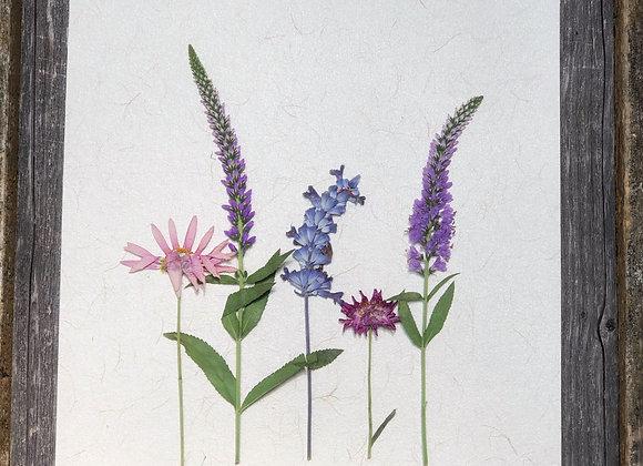 """8 x 10 Floral Art  """"Simple Floral"""""""