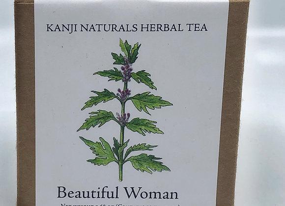 Beautiful Woman,  box of 10 tea bags
