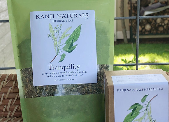 Tranquility , box of 10 tea bags