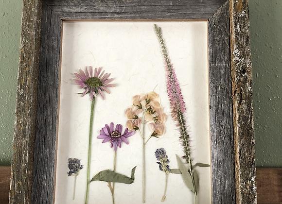 8 x 10  Floral Art