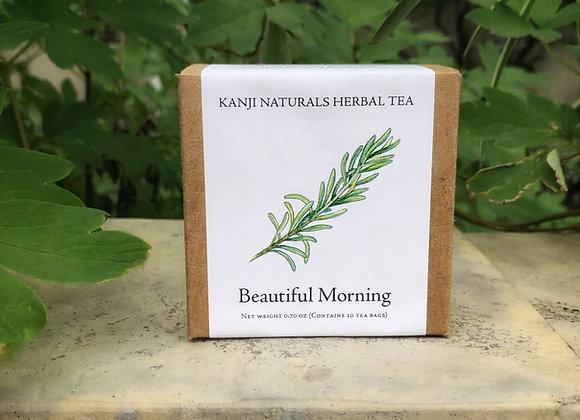 Beautiful Morning herbal tea, box of 10 tea bags