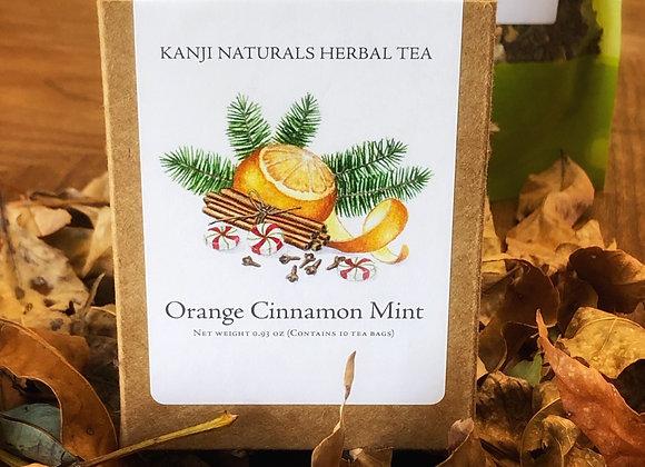 Orange Cinnamon Mint