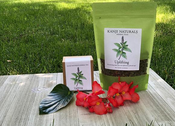 Uplifting 2 ounce tea blend