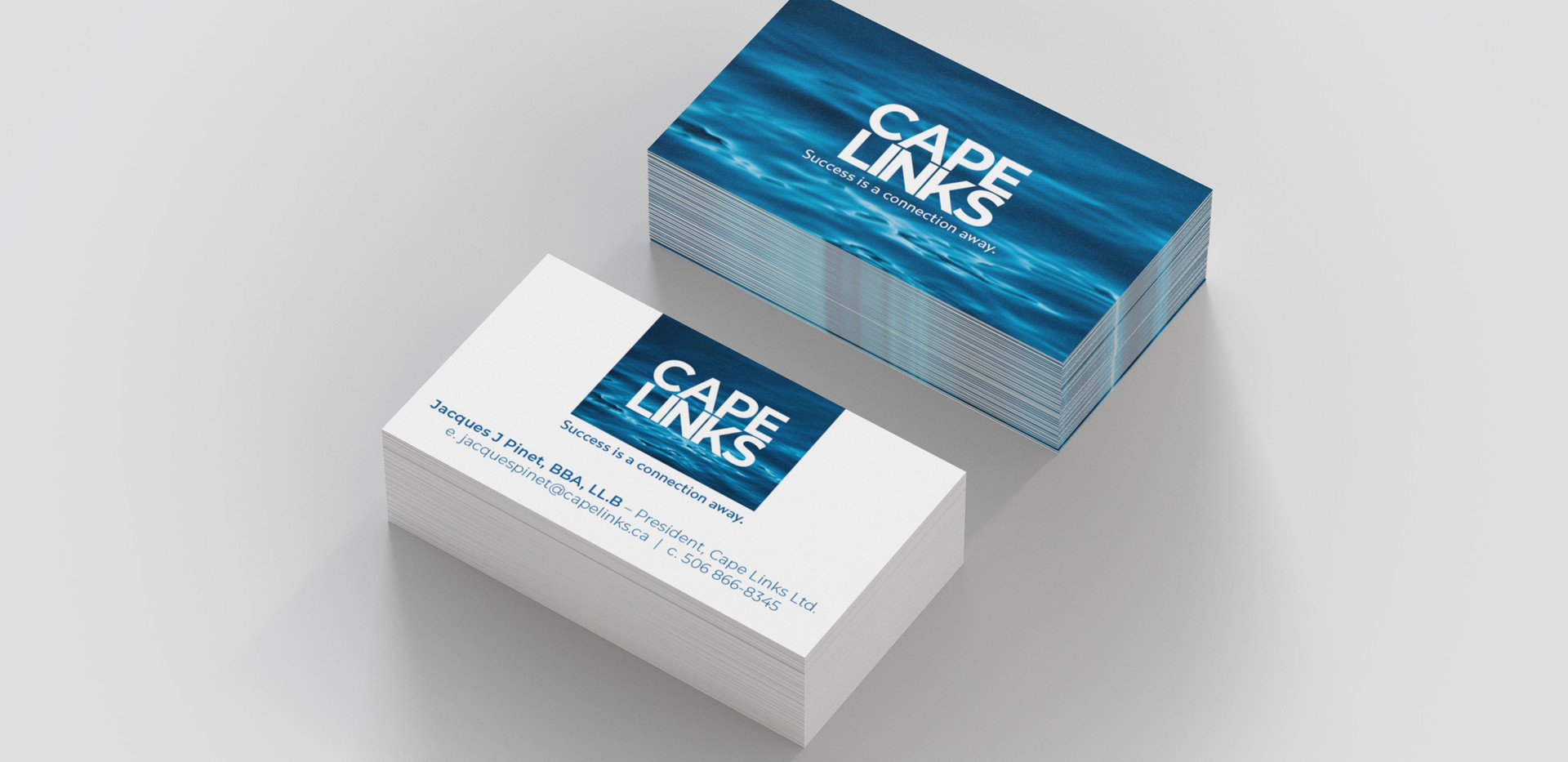 Cape Links Ltd. | Logo and Stationary Design