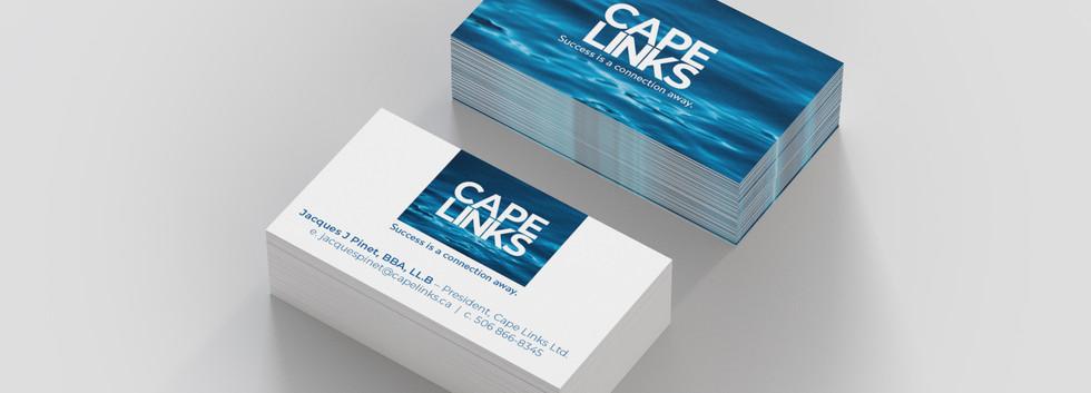 Cape Links Ltd. | Logo and Stationary Design