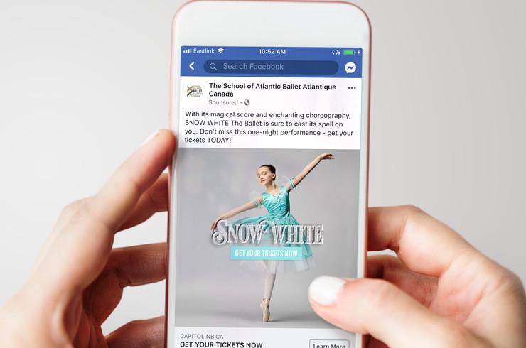 Snow White Ballet | Social Post