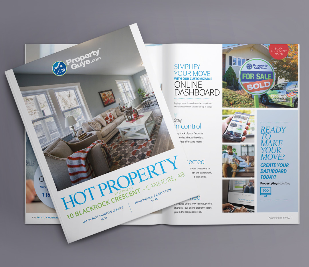 Property Guys: Hot Property | Magazine Design