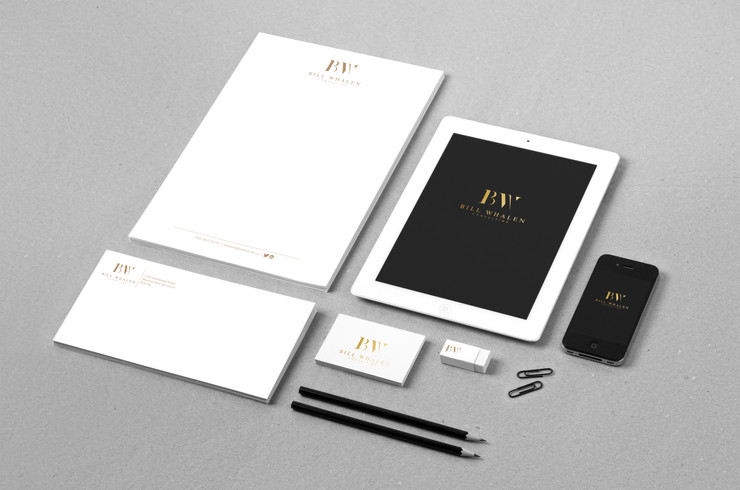 Bill Whalen Consulting | Stationary design