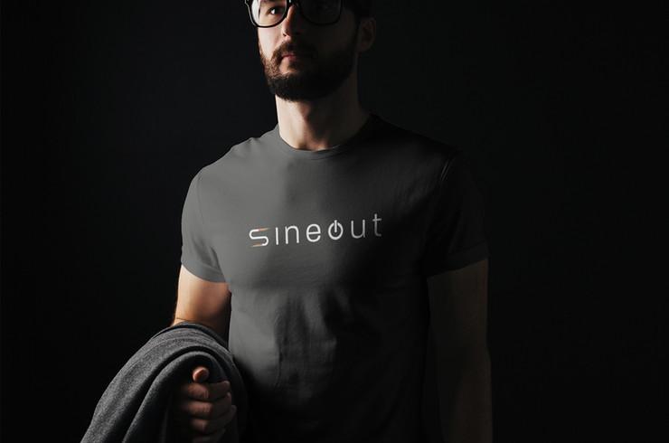 SineOut logo