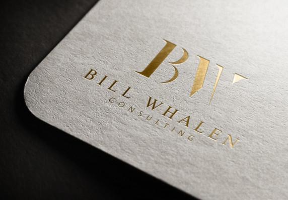 Bill Whalen Consulting   Logo Design