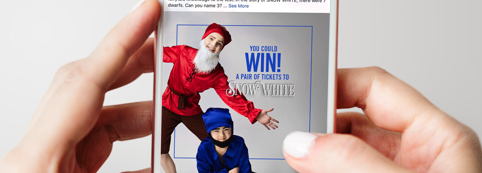 Snow White Ballet | Contest Promotion Post