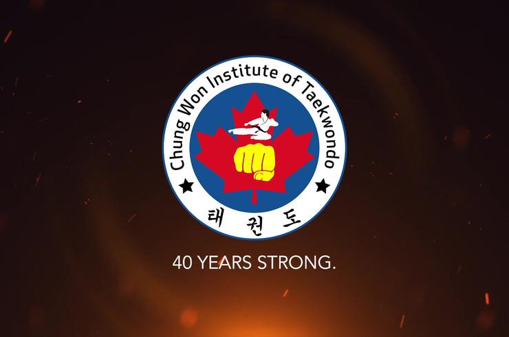 Chung Won Institute of Taekwondo | 40th Anniversary Video