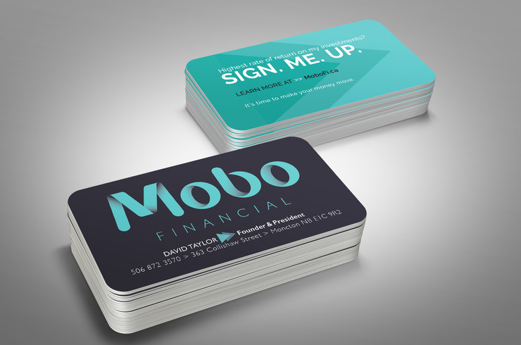Mobo Financial | Business Card Design