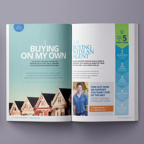 Property Guys   Hot Property Magazine Design