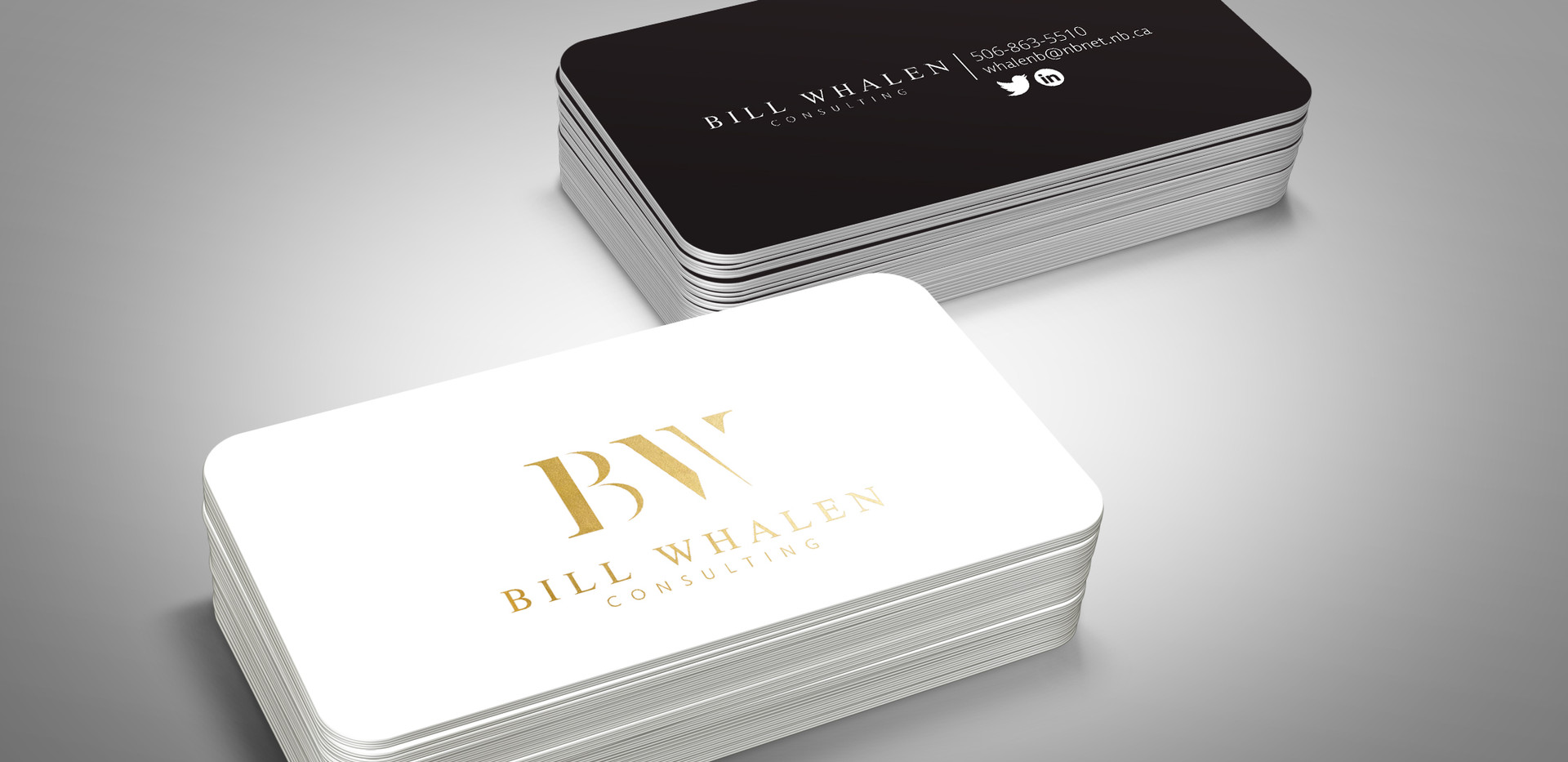 Bill Whalen Consulting | Business Card design