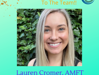 Welcome To The Team: Lauren Cromer, AMFT